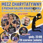 Charytatywny mecz z gwiazdami w ramach MFSP Galeria Krakowska